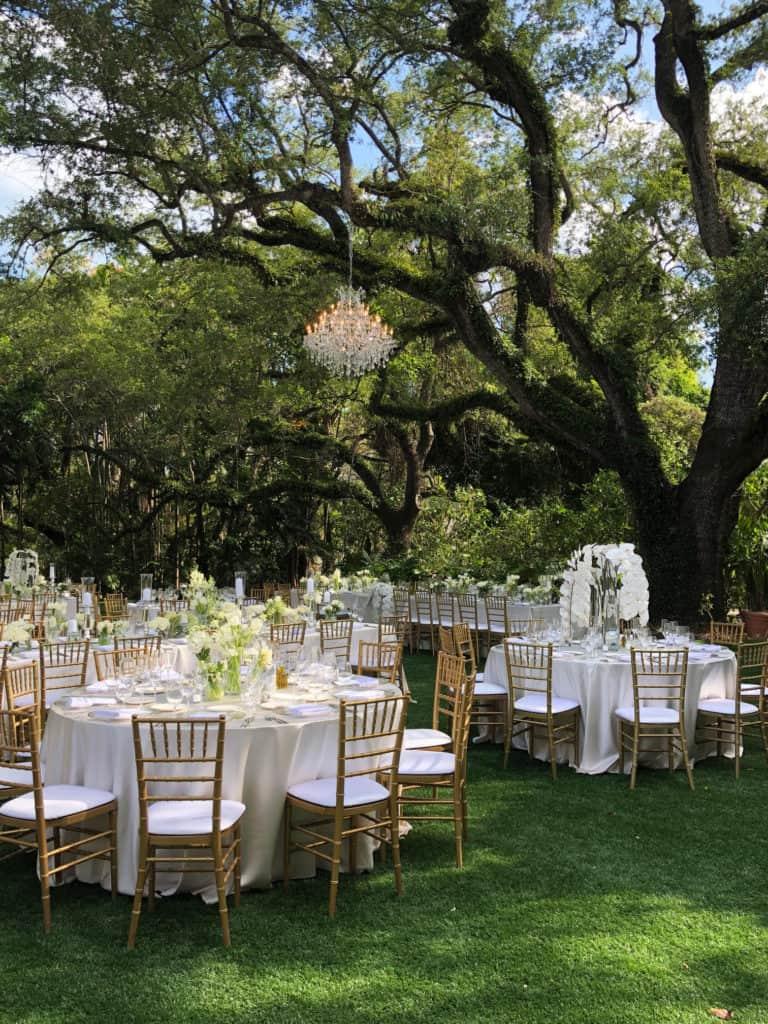 villa woodbine chandelier evoga events