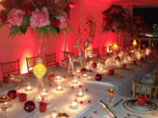 miami event production private holiday party